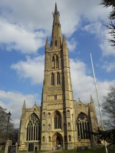 St Wulfram's Church, Grantham - where the course will take place