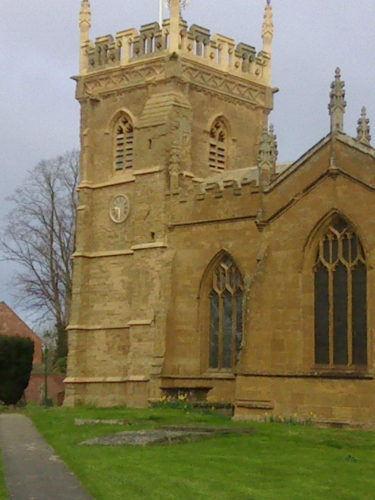 St Peter's Church, Kineton 8 bells 10-0-5 in F #