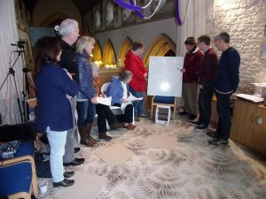 Teaching at the Stretham Ringing Education Centre