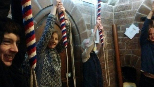 Ringing at Dumfries