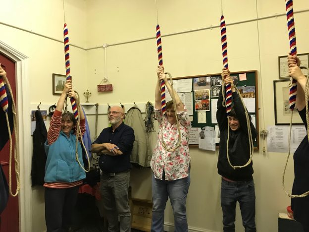 The Ringing Room at Wragby