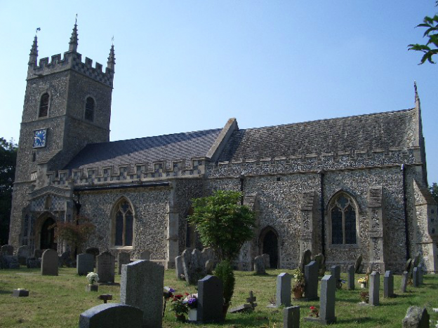 St Leonard, Horringer, 8 (8cwt)